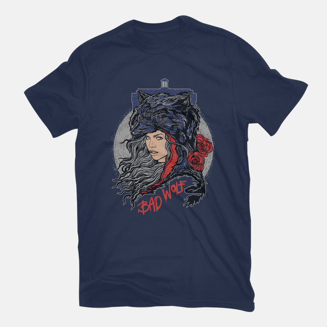 Bad Wolf Skinned-mens basic tee-zerobriant