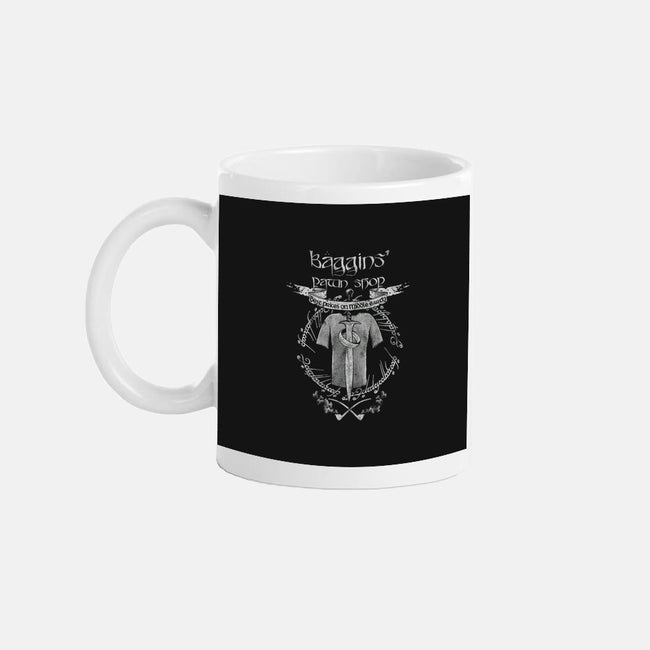 Baggins' Pawn Shop-none glossy mug-spacemonkeydr