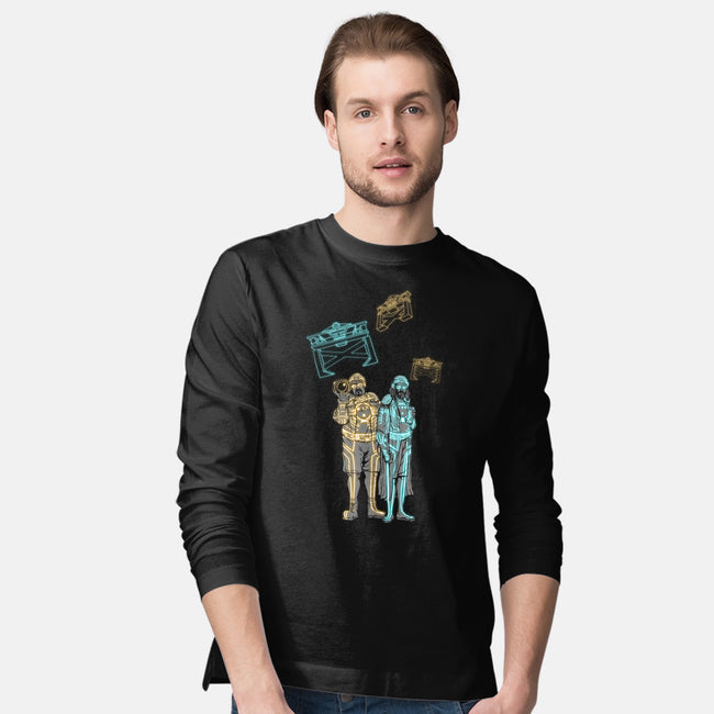 Bowling. It's not just a game anymore.-mens long sleeved tee-spacemonkeydr