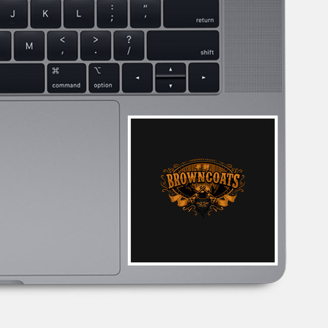 Browncoats Forever-none glossy sticker-WinterArtwork