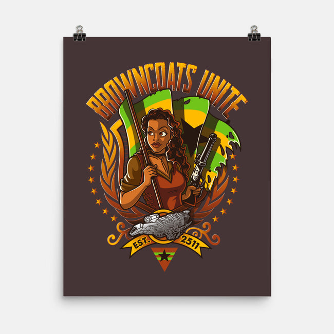 Browncoats Unite!-none matte poster-Bamboota