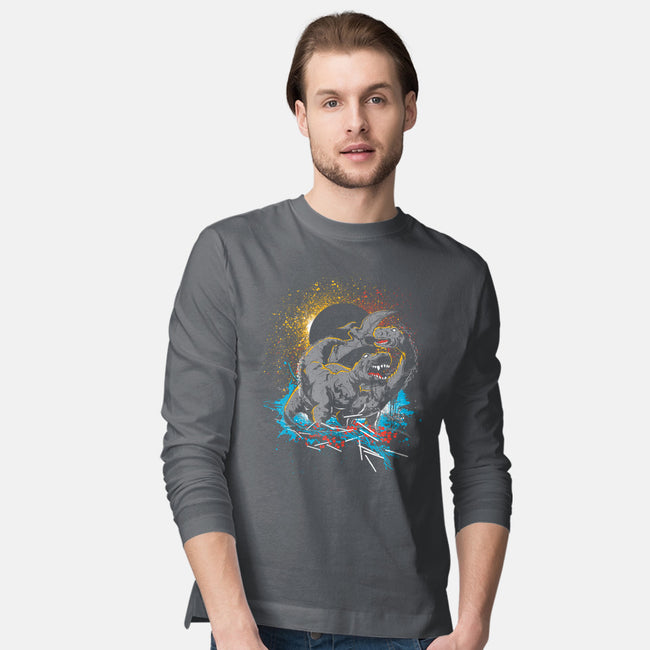 Dinos-mens long sleeved tee-Geoff May