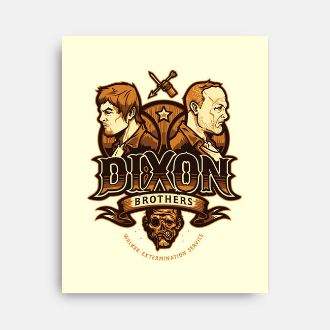 Dixon Bros Walker Control-none stretched canvas-Michael Myers Jr.