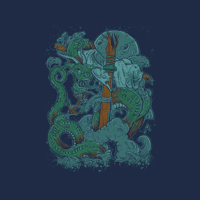 Dragon of the Sea-womens fitted tee-Castle