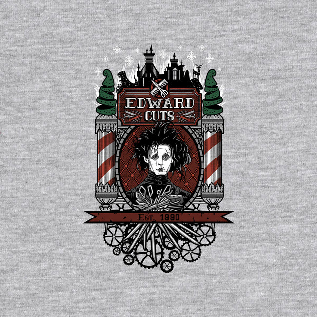 Edward Cuts-womens fitted tee-onebluebird