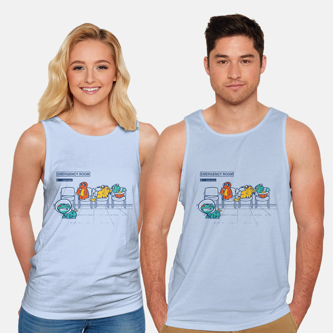 Emergency Room-unisex basic tank-jublin