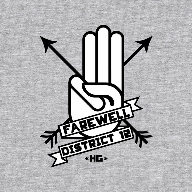 Farewell District 12-unisex basic tank-famousafterdeath