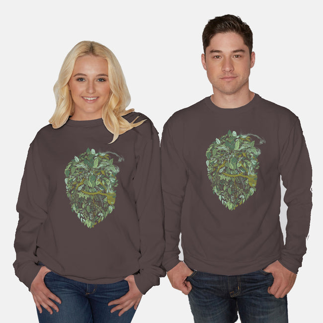 Father Nature-unisex crew neck sweatshirt-alvarejo