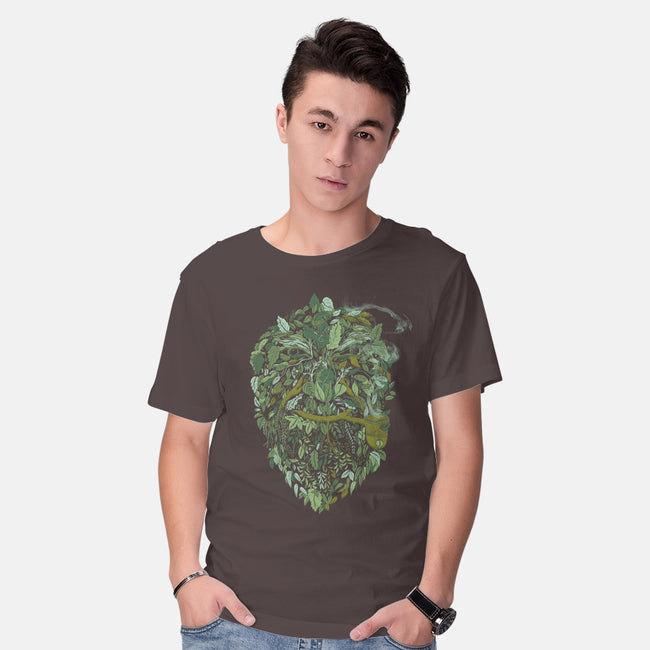 Father Nature-mens basic tee-alvarejo