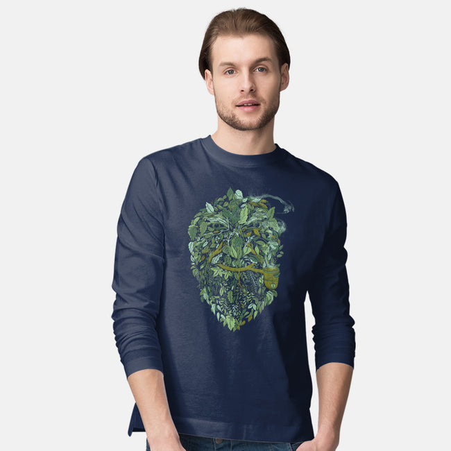 Father Nature-mens long sleeved tee-alvarejo