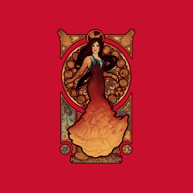 Fire is Catching-none glossy sticker-MeganLara