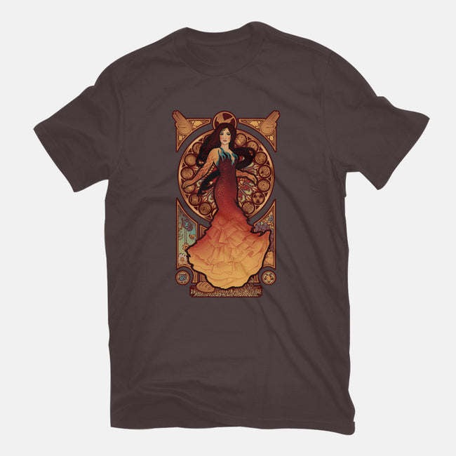 Fire is Catching-womens basic tee-MeganLara