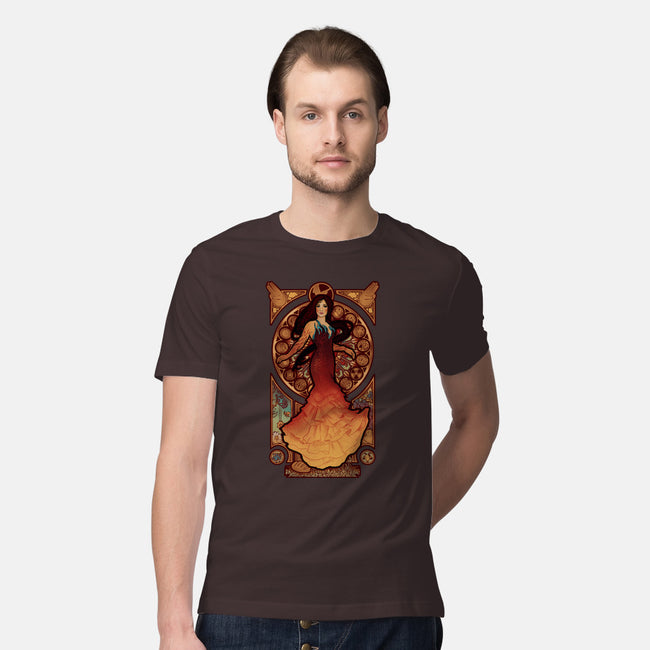Fire is Catching-mens premium tee-MeganLara