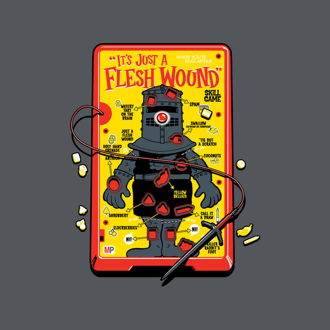 Flesh Wound-none glossy sticker-Captain Ribman