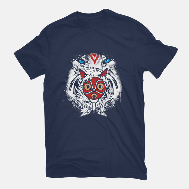 Forest Spirit Protector-youth basic tee-InkOne