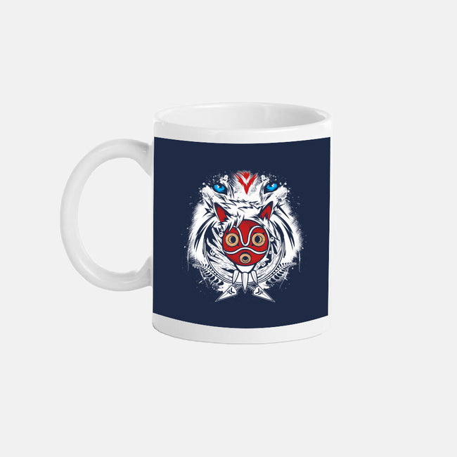 Forest Spirit Protector-none glossy mug-InkOne
