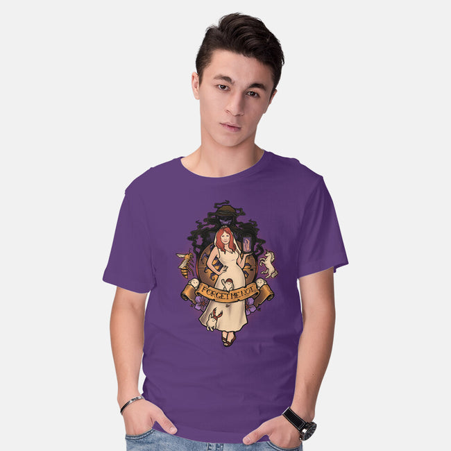 Forget Me Not-mens basic tee-MeganLara