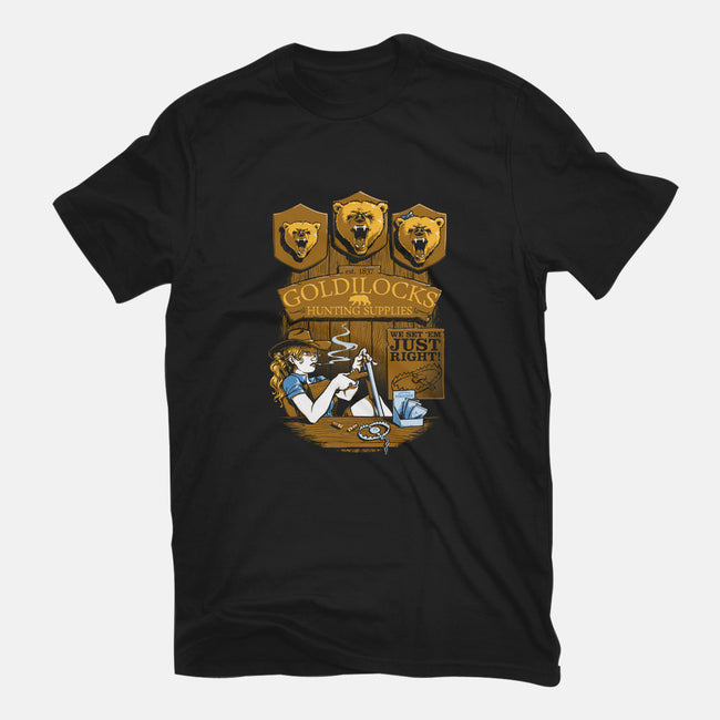 Goldilock's Hunting Supplies-youth basic tee-Obvian