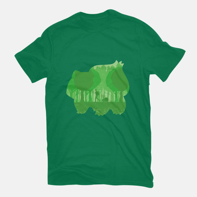 Green Companion-womens fitted tee-Whitebison