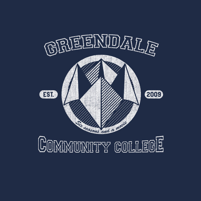 Greendale Community College-none glossy sticker-SergioDoe