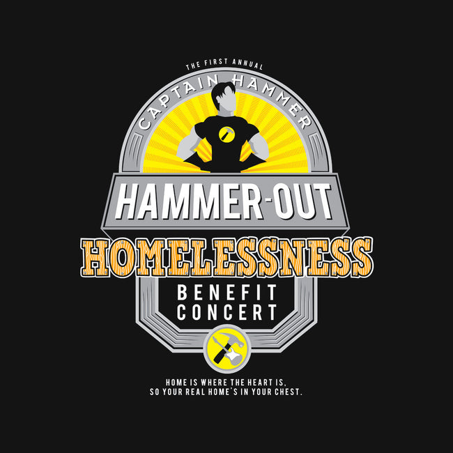 Hammer-Out Homelessness-none stretched canvas-TheBensanity