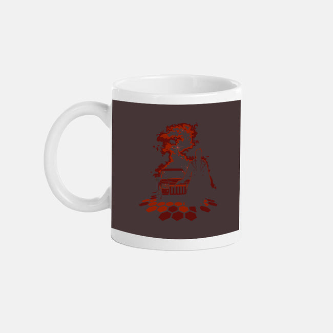 He Always Cheats-none glossy mug-Matt_Dearden
