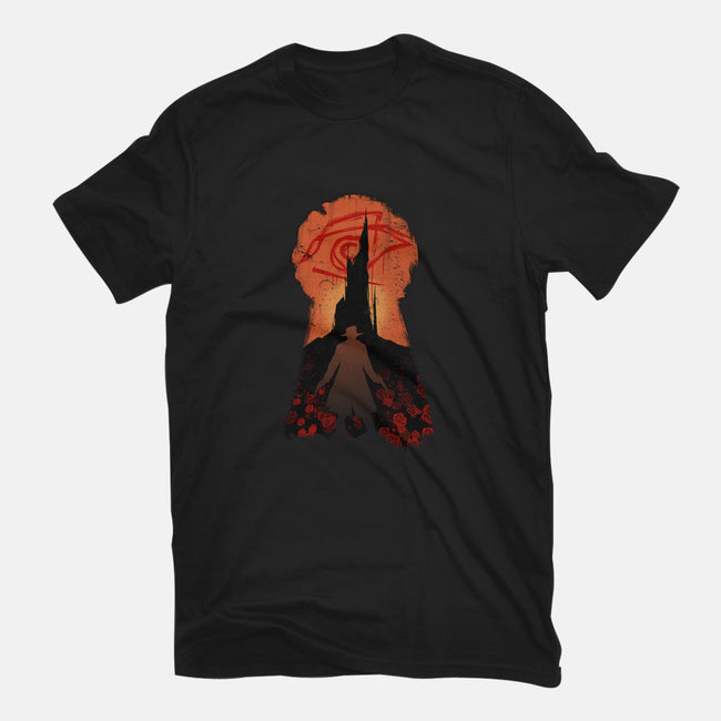 He Followed-womens fitted tee-MeganLara