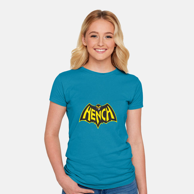 Hench-womens fitted tee-WinterArtwork