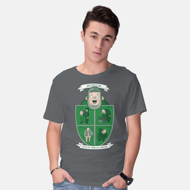 Hodor.-mens basic tee-queenmob
