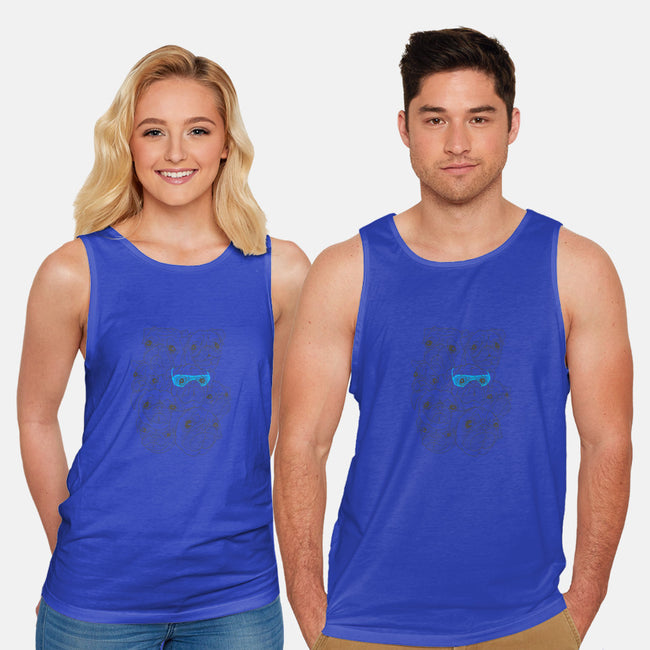 Hot Dog-unisex basic tank-jublin