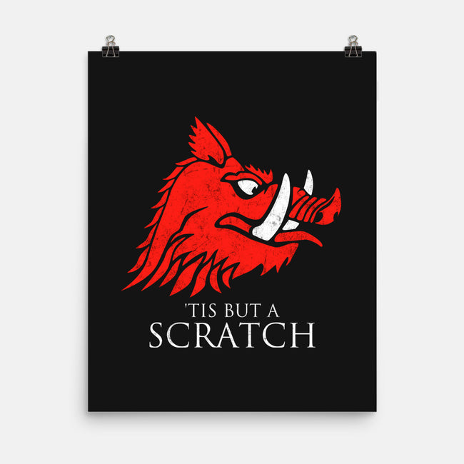 House Scratch-none matte poster-karlangas