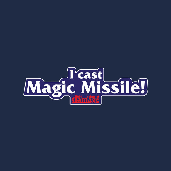 I Cast Magic Missile-none glossy sticker-Aaron A. Fimister