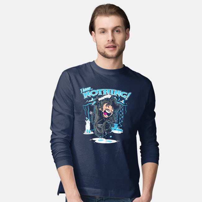 I Know Nothing!!!-mens long sleeved tee-AtomicRocket