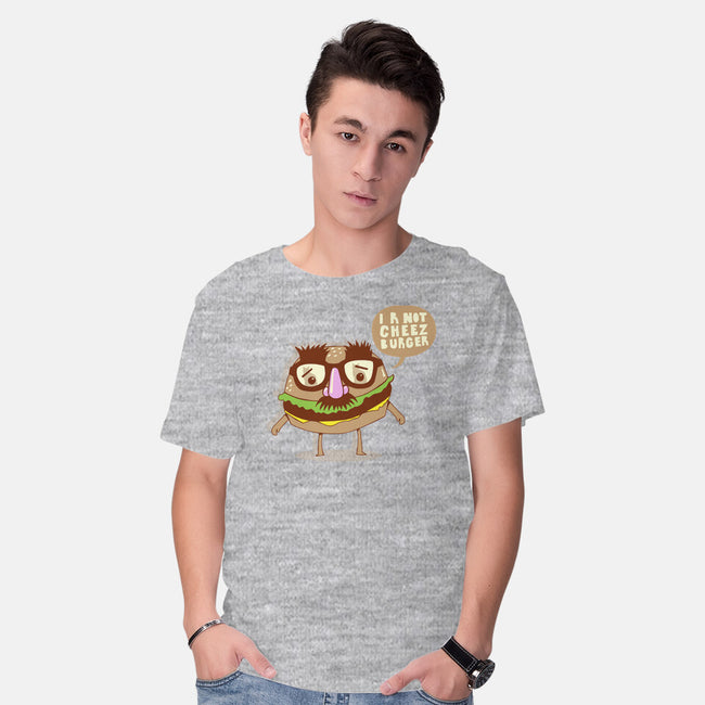 I R Not Cheezburger-mens basic tee-wotto