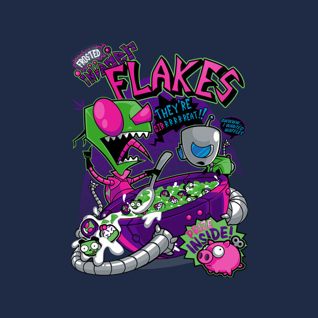 Invader Flakes-mens basic tee-AtomicRocket