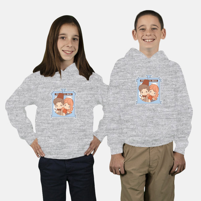 Precious Companions-youth pullover sweatshirt-Bamboota