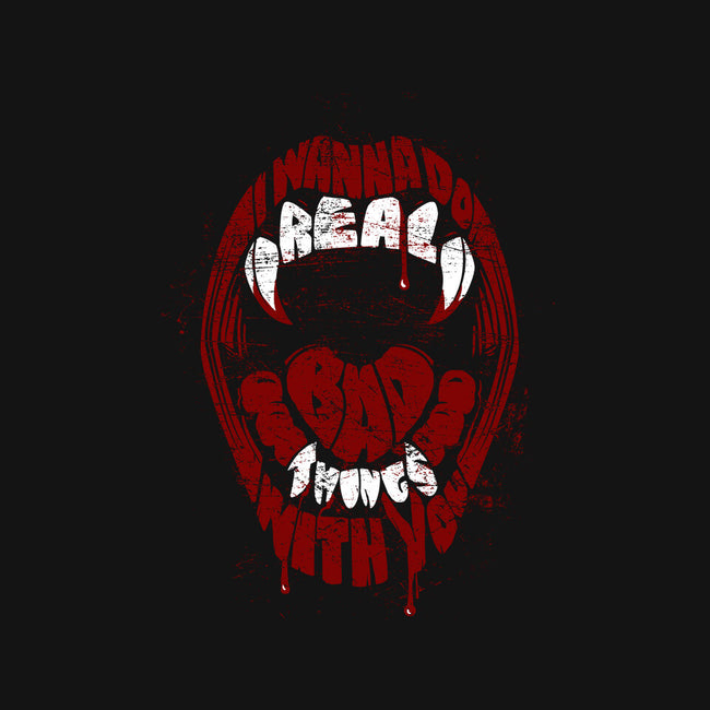 Real Bad Things-none glossy sticker-zerobriant