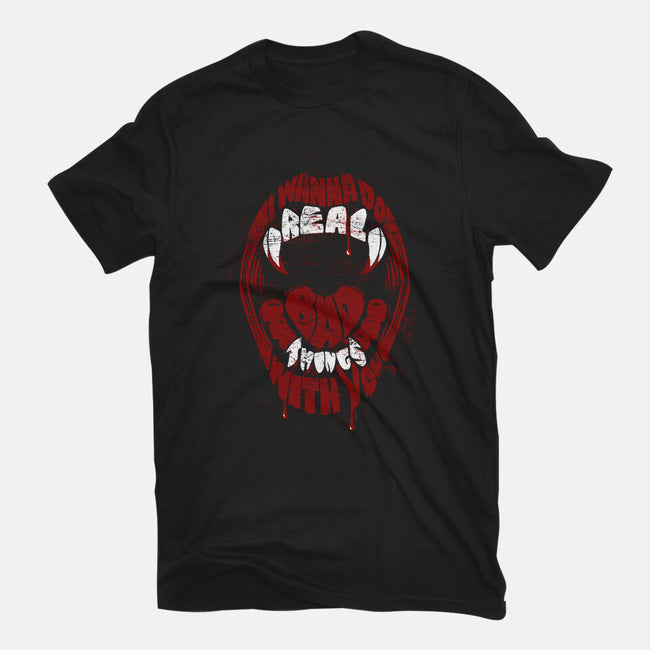 Real Bad Things-mens premium tee-zerobriant