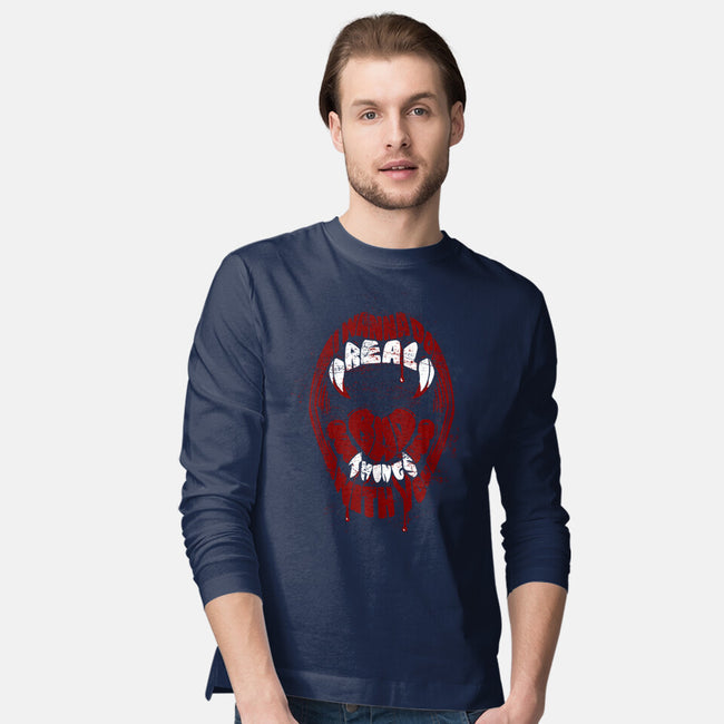 Real Bad Things-mens long sleeved tee-zerobriant