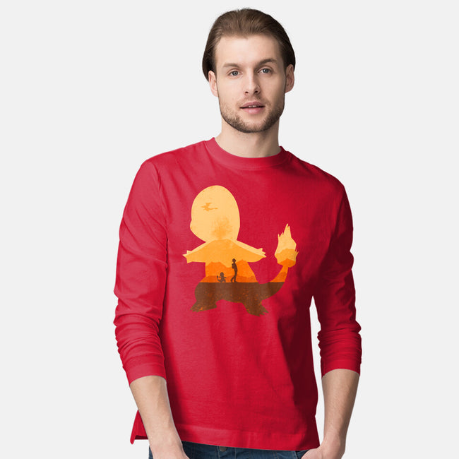 Red Companion-mens long sleeved tee-Whitebison