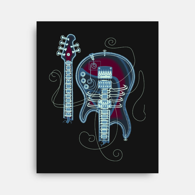 Rock Radiograph-none stretched canvas-Leon