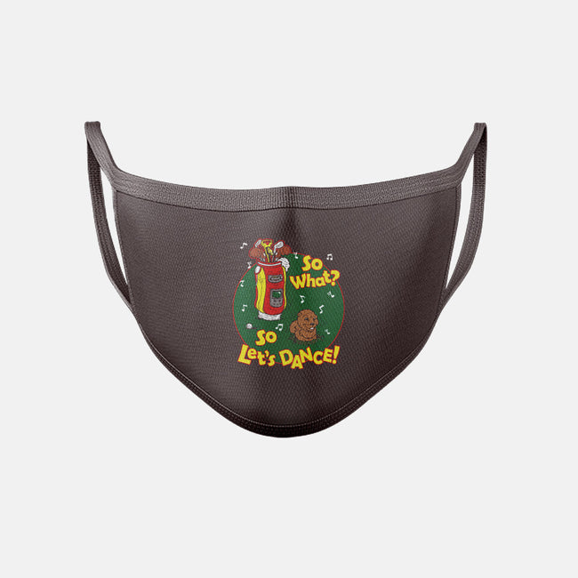 Rockin the Bushwood-unisex basic face mask-jkilpatrick