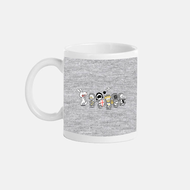 Run Away! Run Away!-none glossy mug-queenmob
