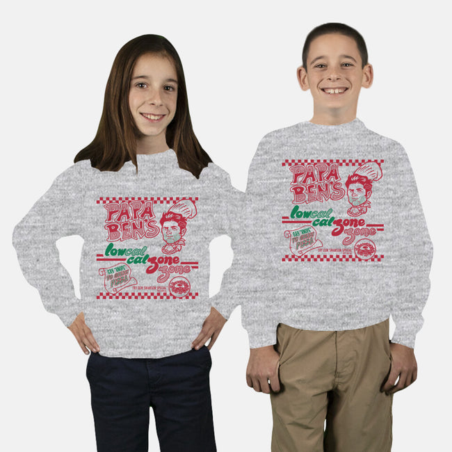 Papa Ben's-youth crew neck sweatshirt-tomkurzanski