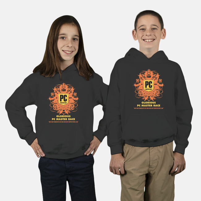 PC Master Race-youth pullover sweatshirt-YiannisTees
