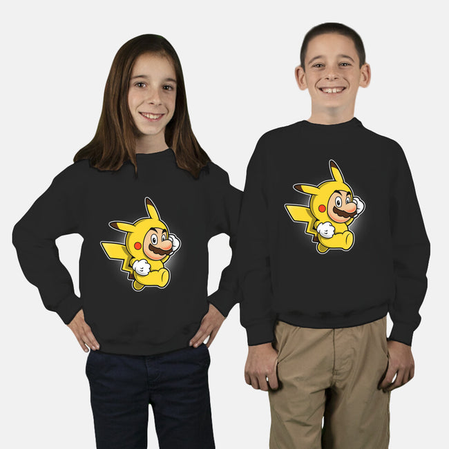Pika Suit-youth crew neck sweatshirt-adho1982