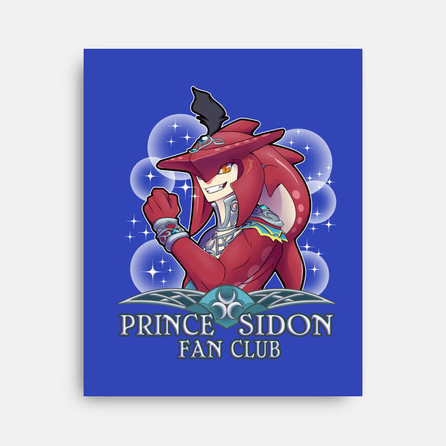 Prince Sidon Fan Club-none stretched canvas-bubbleknight