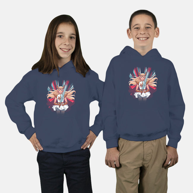 Princess of Power-youth pullover sweatshirt-ursulalopez