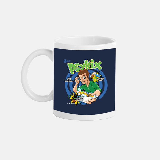 Psykix Cereal-none glossy mug-foureyedesign