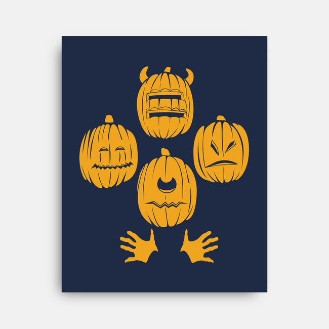 Pumpkin Smashsody-none stretched canvas-spaceboystudios